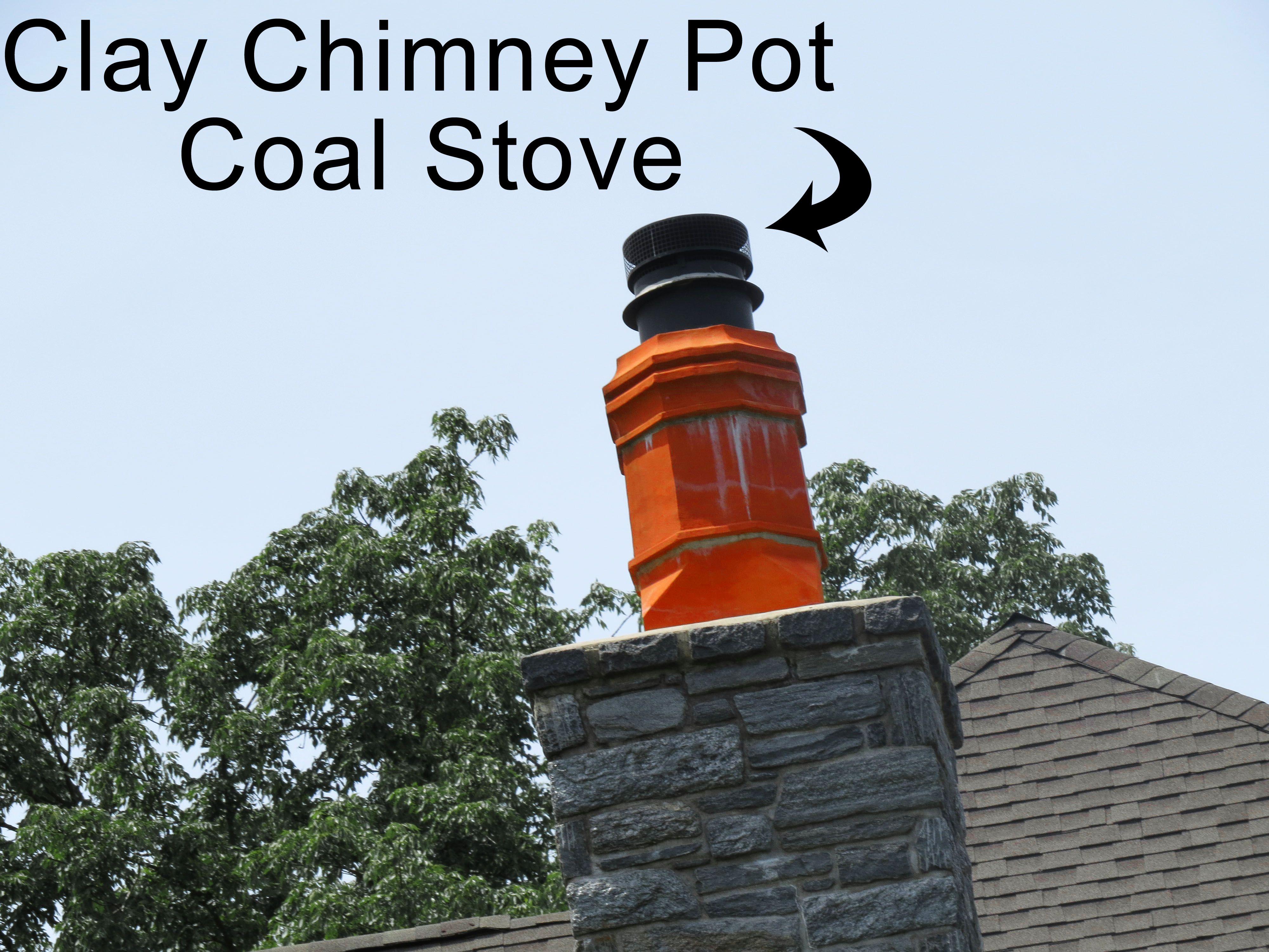 Clay Chimney Pot Over A Coal Stove Top Coal Stove Clay Pot