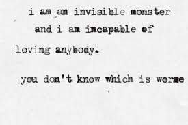 Invisible Monsters Chuck Palahniuk