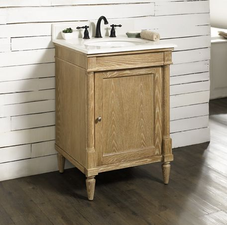 Rustic Chic 24 Vanity Weathered Oak Fairmont Designs Fairmont Designs 24 Vanity Weathered Oak Rustic Bathroom Vanities
