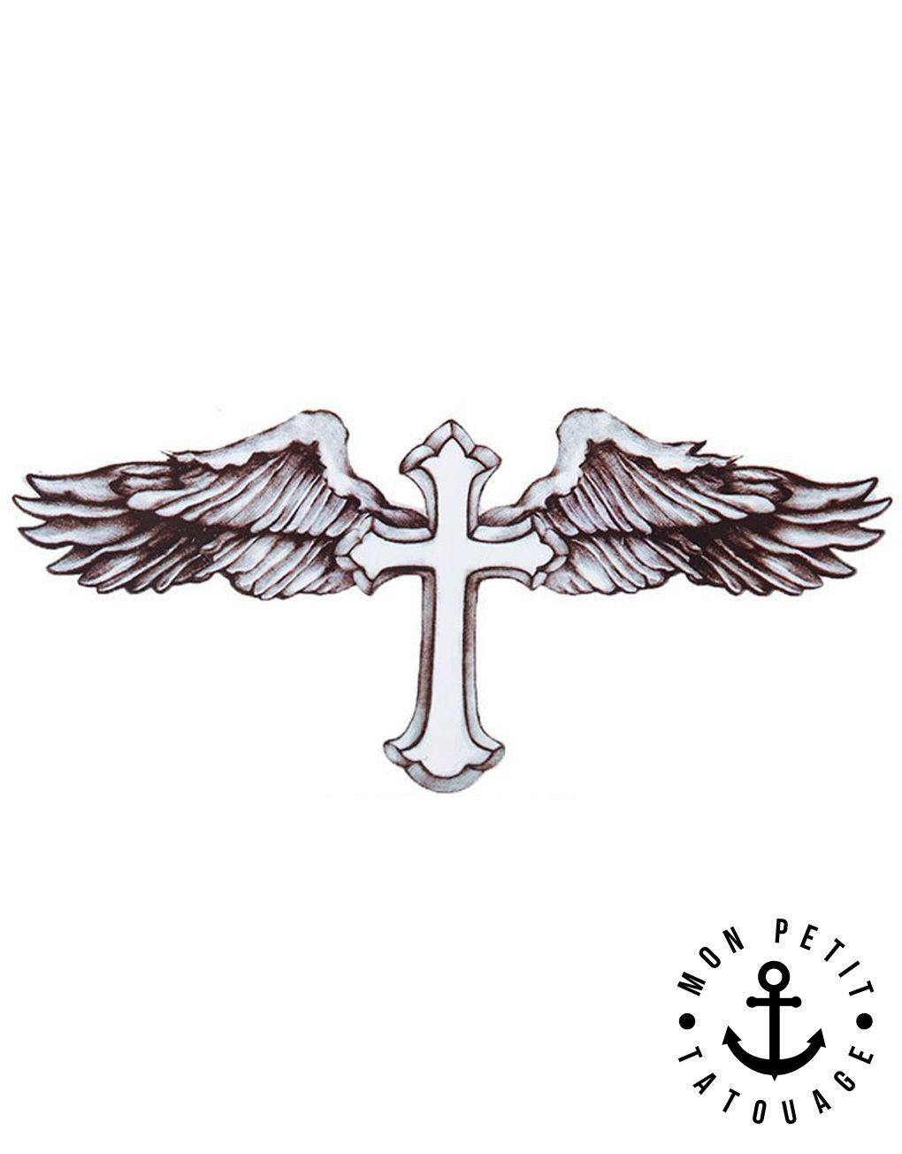 Tatouage Croix Ailes D Ange De Beckham Tatouage Croix Tatouage