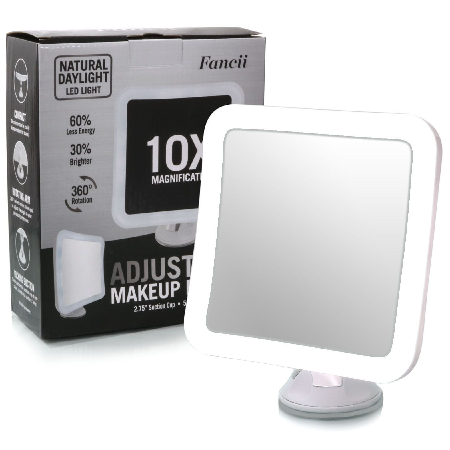 Mira Makeup mirror with lights, Lighted magnifying