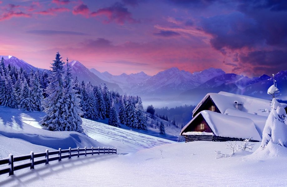 Winter Landscape 4k Ultra Hd Wallpaper 4k Wallpaper Net Winter Scenery Winter Landscape Winter Pictures