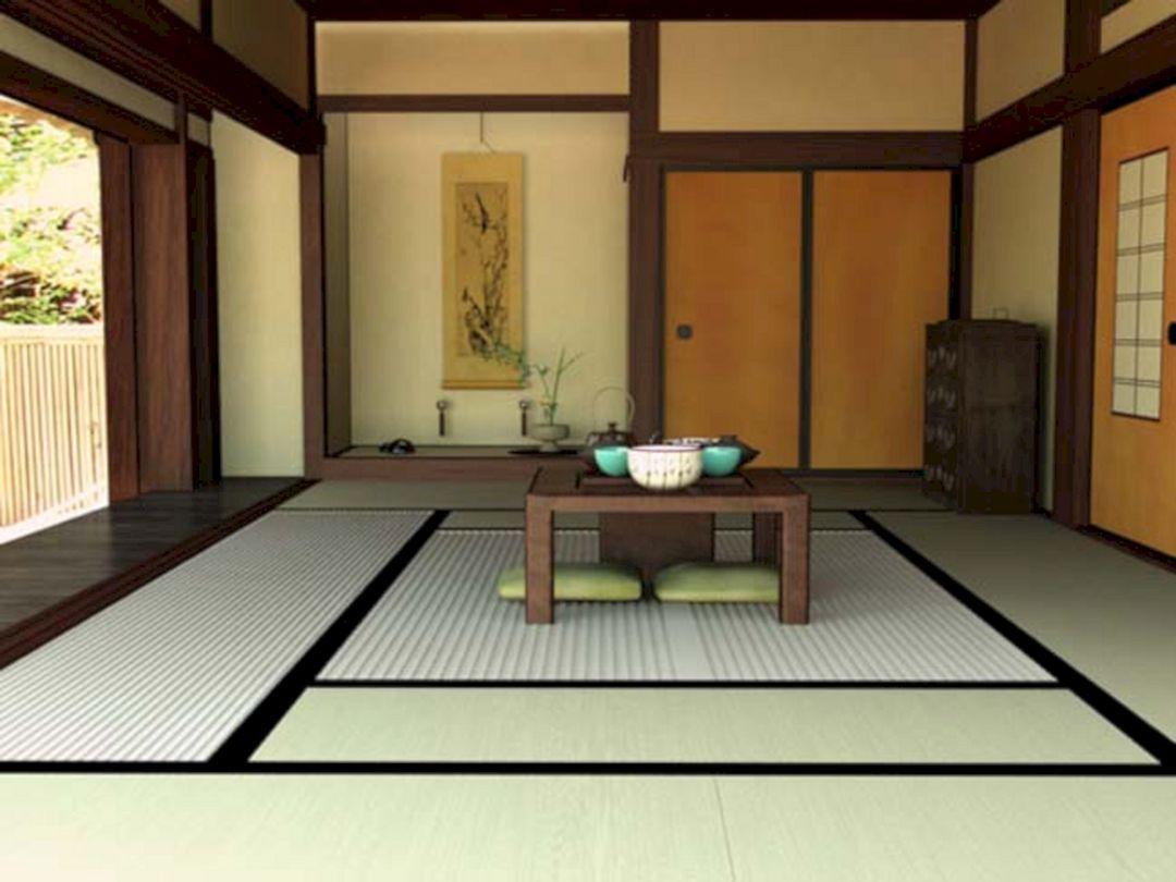 Impressive 25 Simple Japanese Living Room Design Ideas That