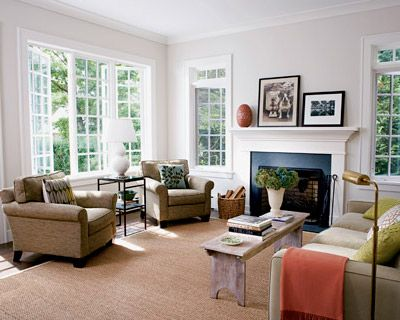 Combining New And Old A Home Gets An Open Layout But Keeps Its Classic Details Whitish Walls White Trim Inspiration Living Room