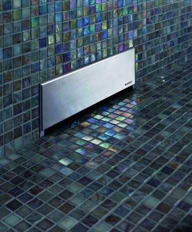 Duschfläche in Steinoptik Bild 4 Duschablauf