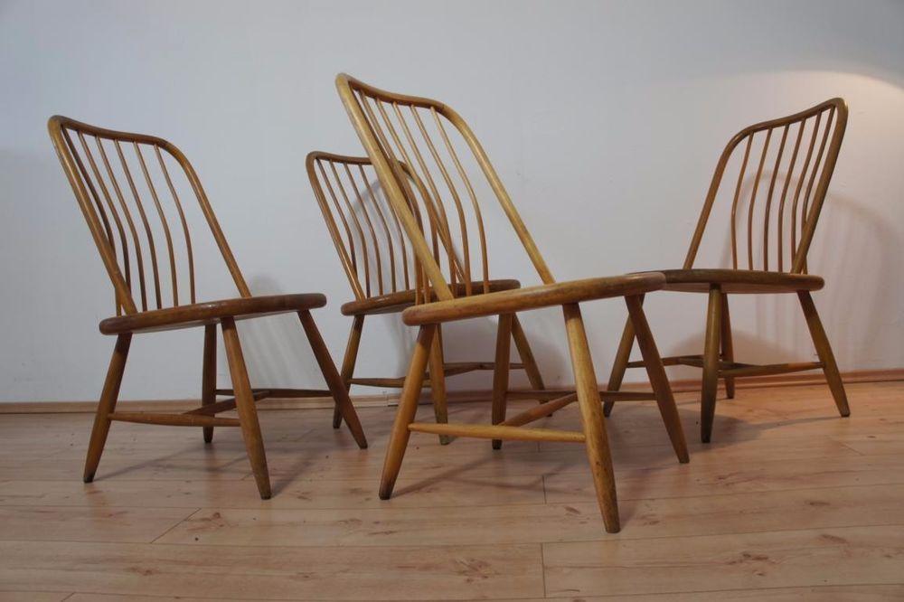 1von4 Stühle Stuhl Chair By Bengt Åkerblom AKERBLOM