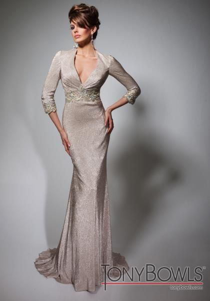 017a2f7e51 Mother of the Bride dress - Tony Bowls Evenings Dress TBE21381 at Peaches  Boutique