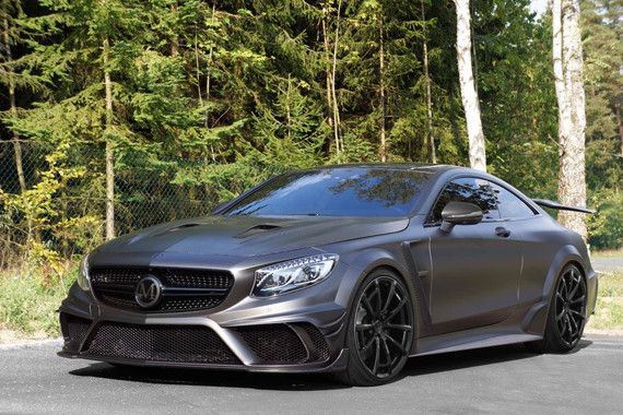 Mercedes AMG S63 Coupe by Mansory