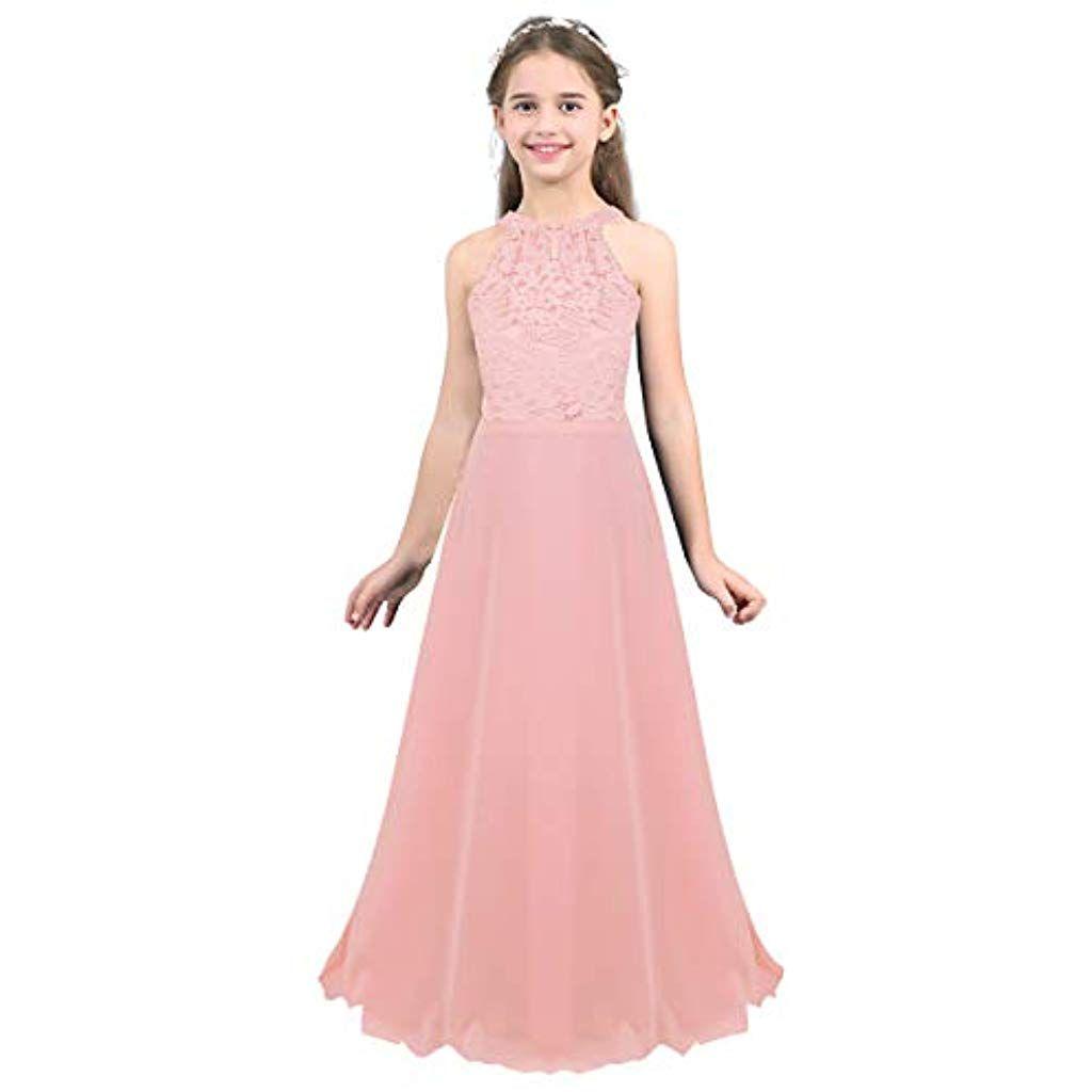 außergewöhnliche Farbpalette 2019 rabatt verkauf Original- dPois Mädchen Kleid Festlich Hochzeit Kleid Blumenkinder ...