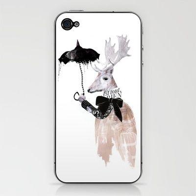 RainDeer by Million Dollar Design IPHONE & IPOD SKIN
