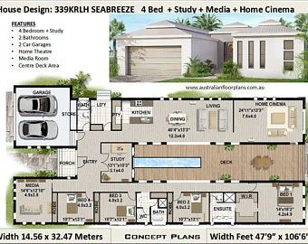 3 X Shipping Containers 2 Bedroom Home Full Construction Etsy Courtyard House Plans Container House Plans Bedroom House Plans