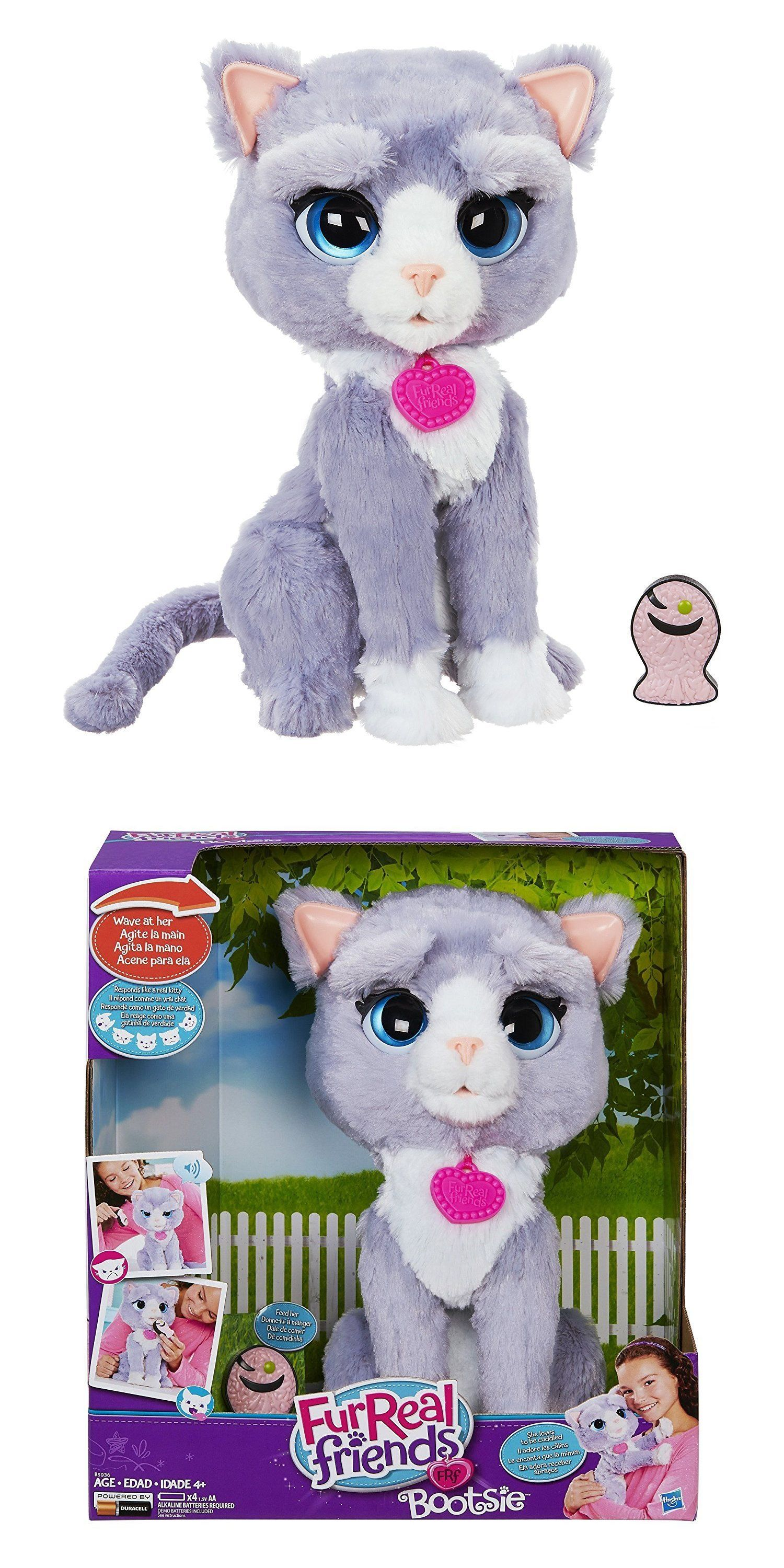 New Hasbro Furreal Friends Bootsie Pet Toy Kitty Cat Free Ship Fur Real Friends Baby Girl Toys Hugs And Cuddles