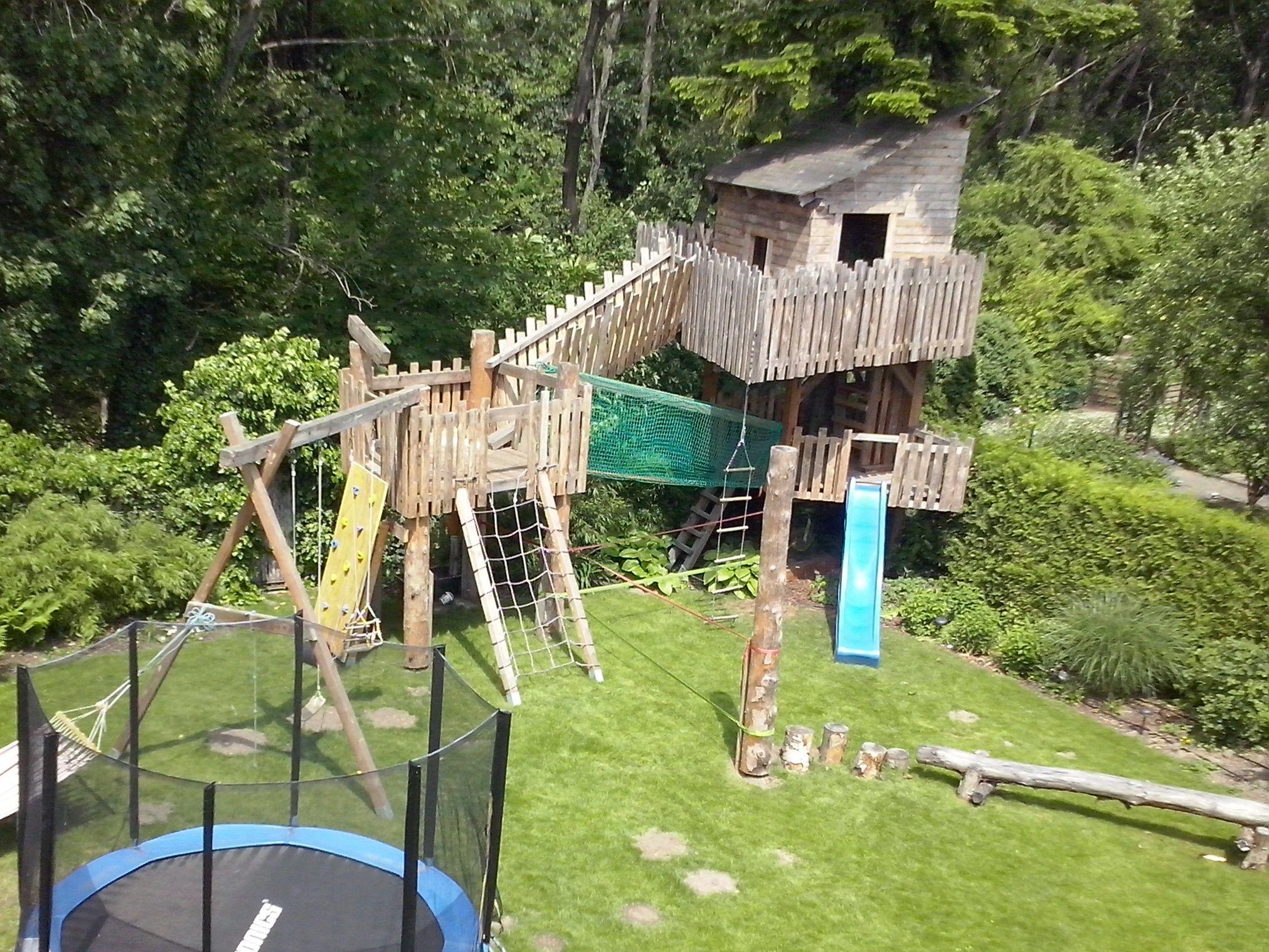 Spielplatz Im Eigenbau Gartengestaltung Peter Reinisch Garten Gartengestaltung Natur Pool