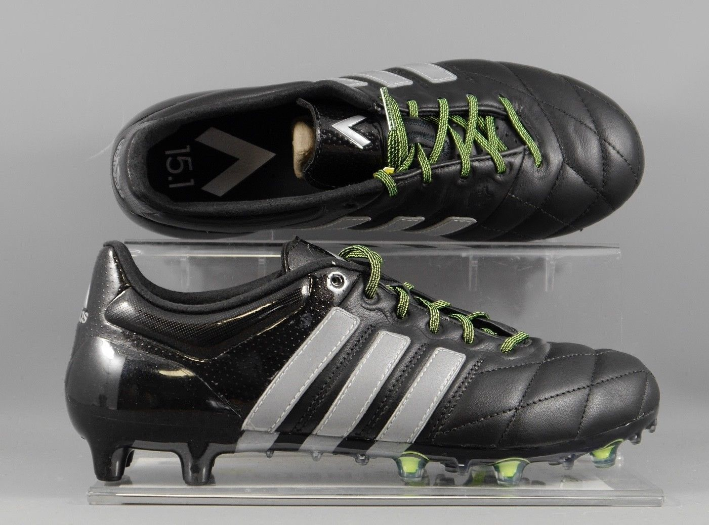 the latest ec219 5de69 B32819 special edition black out Adidas Ace 15.1 Leather ...