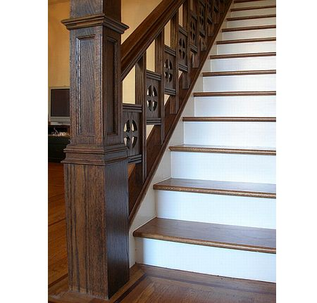 Victorian Stairs Detail | How To: Victorian Staircase Restoration