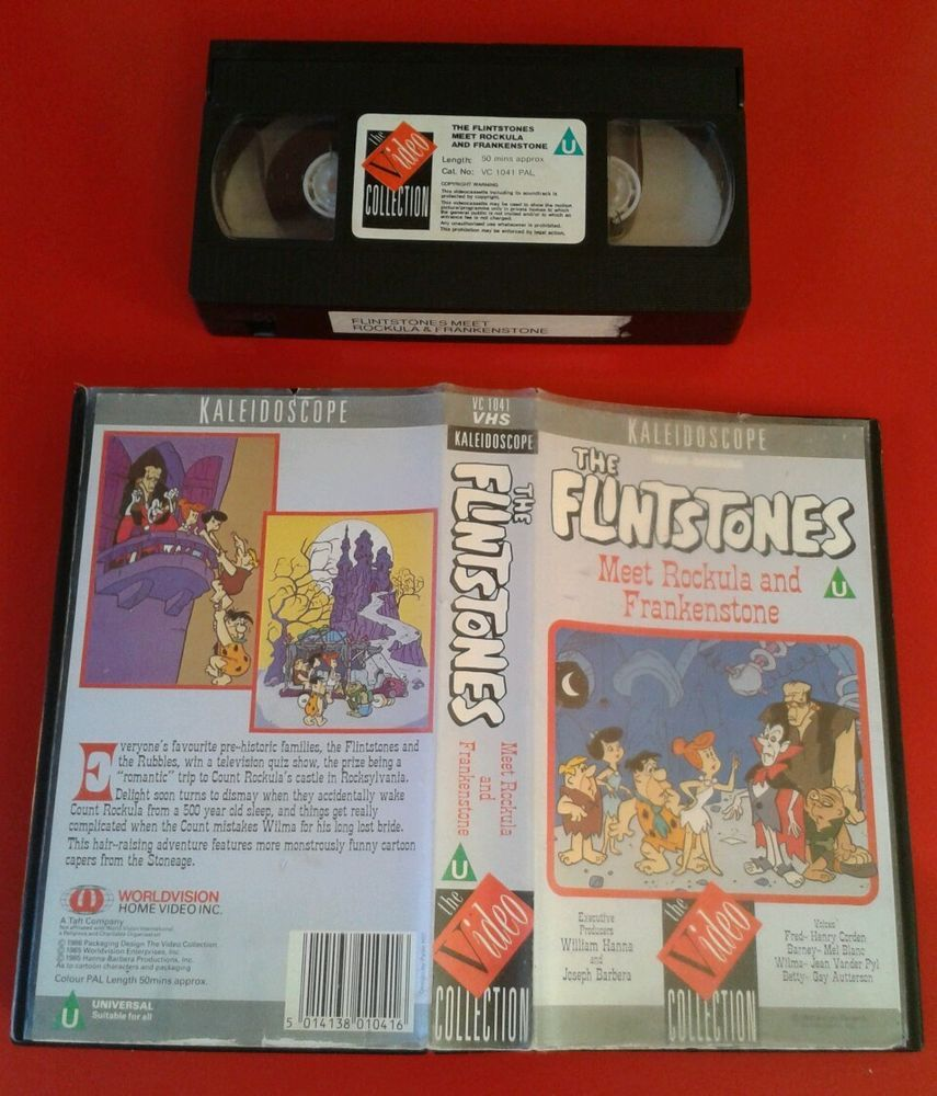 the flintstones meet rockula and frankenstone vhs to dvd