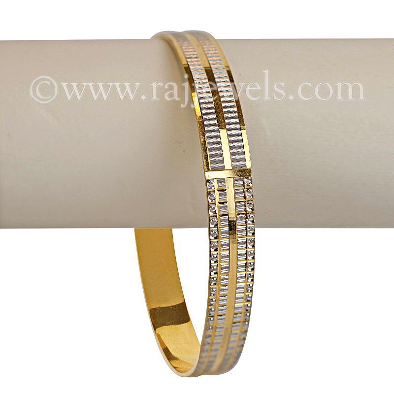 Two-tone Cuff Bracelet | Stylish, Bracelets and Gold