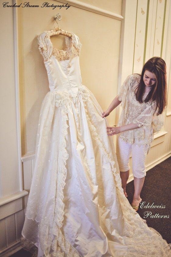 How I Sewed My Wedding Dress Wedding Dresses Dresses Victorian Wedding