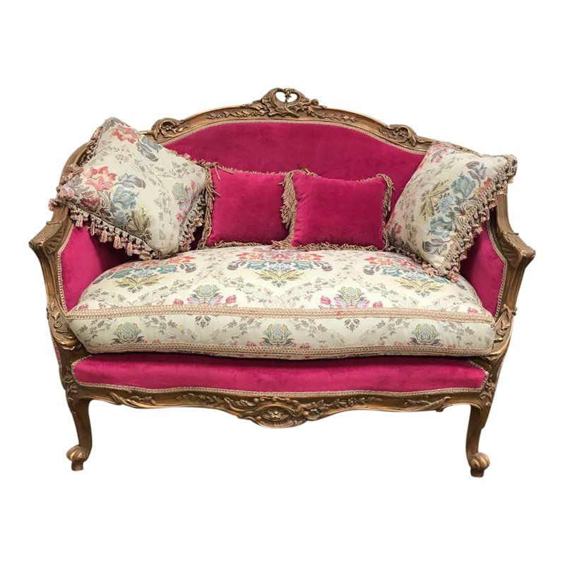 Enjoyable French Style Reproduction Loveseat Pillows In 2019 Bella Pdpeps Interior Chair Design Pdpepsorg