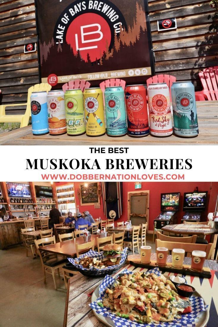 Best Craft Breweries in Muskoka, Ontario in 2020 Best