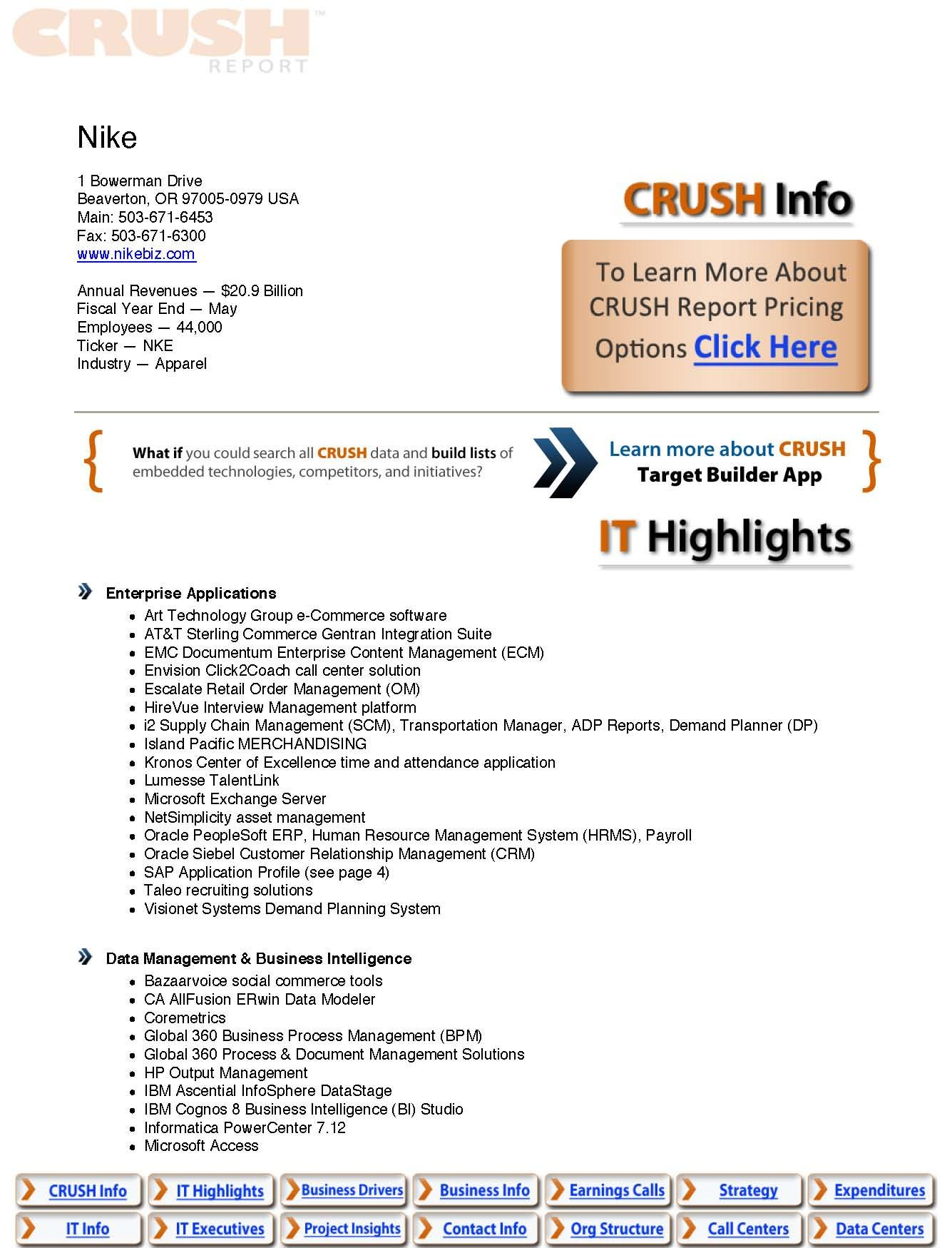 Description Coming Soon  Free Sample Crush Reports