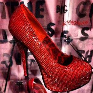 """TOY's Ultimate """"Ruby Slippers"""" by Patricia Field"""