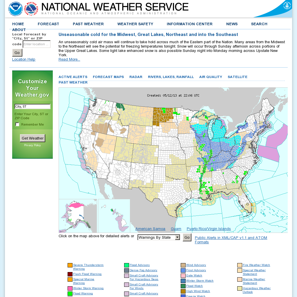Noaa National Weather Service National Oceanic And
