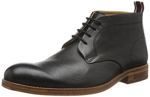 H by Hudson Mens Lenin Winter Boot Black 43 EU10 M US ** You can get additional details at the image link.
