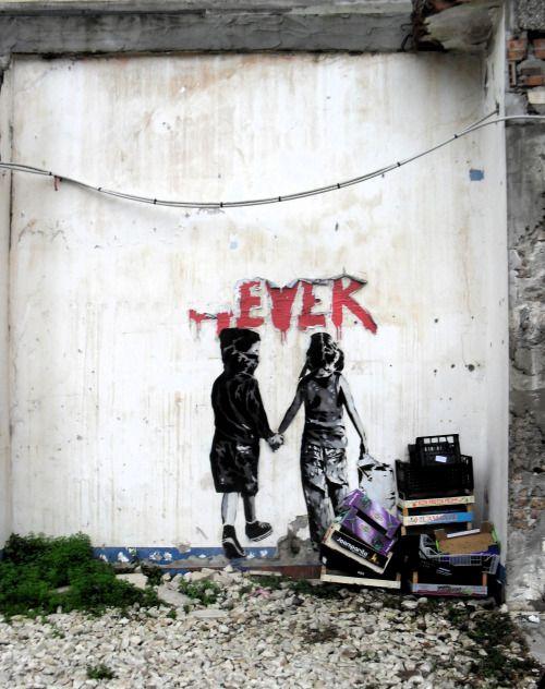 Contact visuel - Street art
