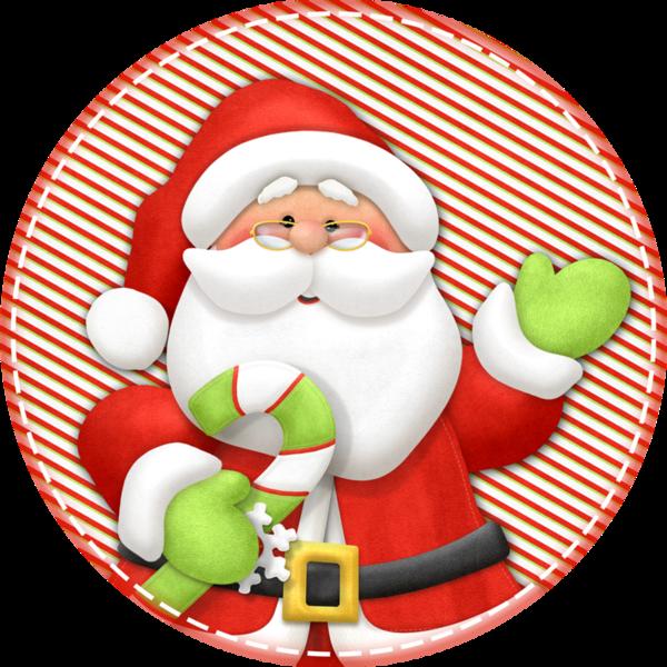 Cozy Santa Claus Christmas Party Dinner Napkins