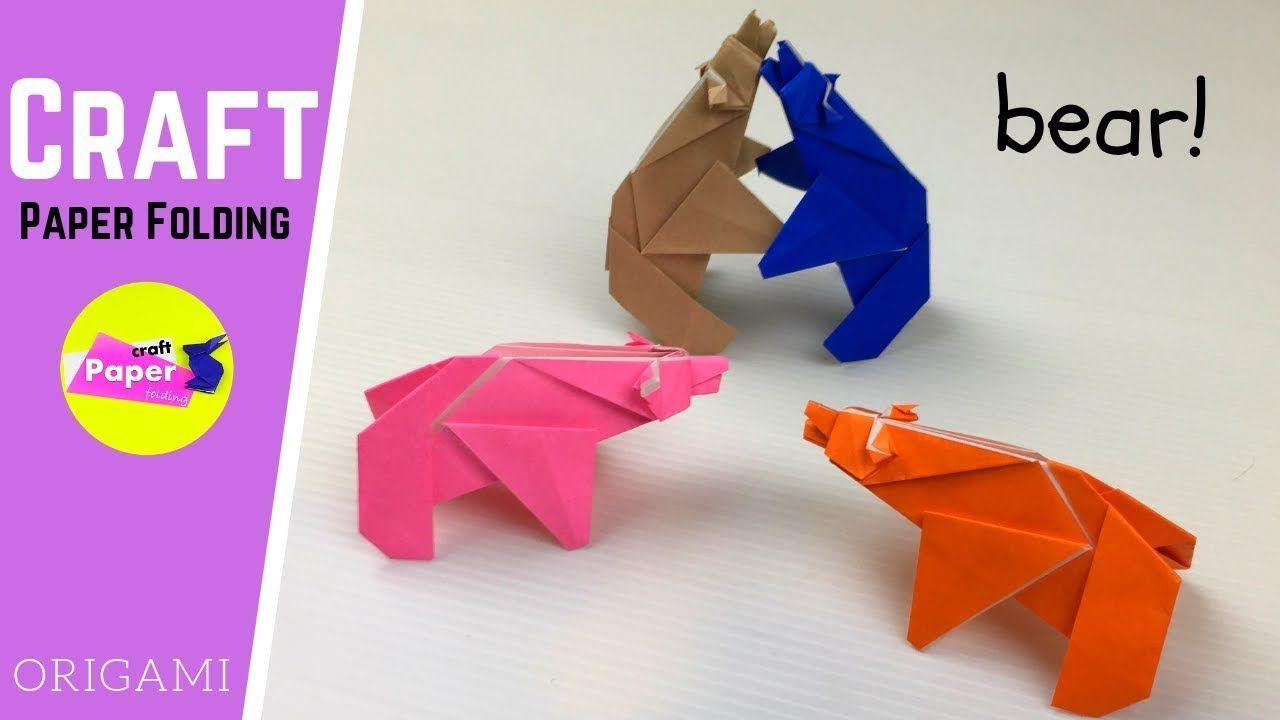 Origami Tasche Hã Keln