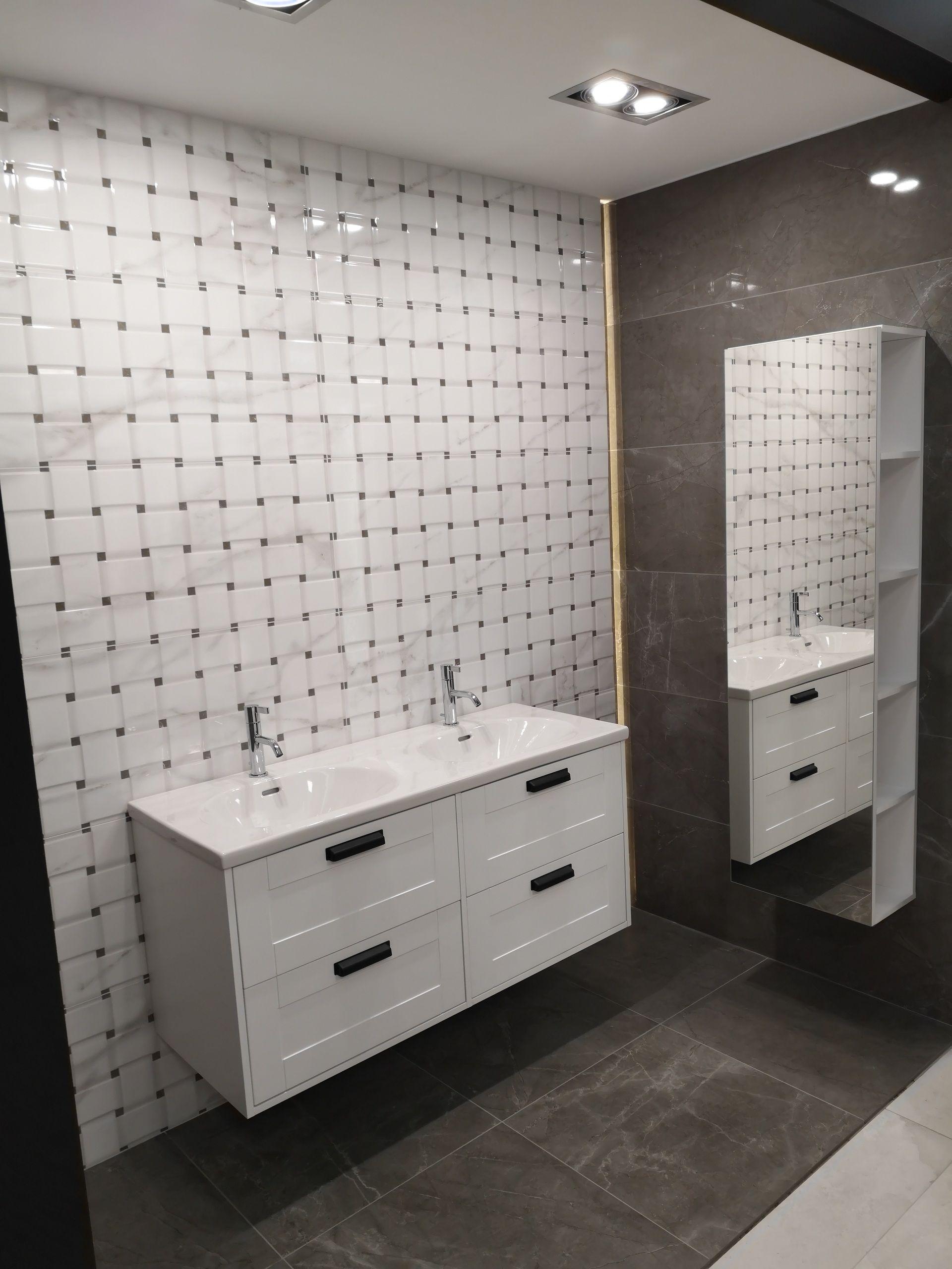 Ekspozycja W Domo Strefa Ul Domaniewska 37b 02 672 Warszawa Naszemeblenaszapasja Elitameble Elita Meblelazienkowe Vanity Double Vanity Bathroom Vanity