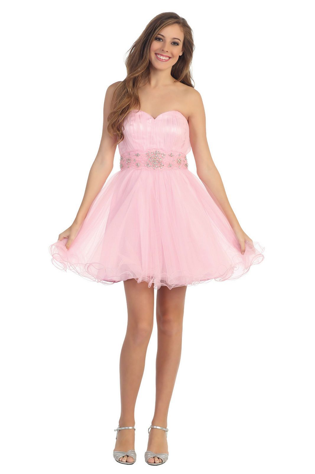 Short mini strapless corset cocktail prom homecoming dress short