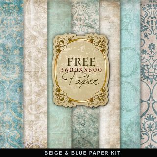 FreebiesVintage Style Paper Backgrounds