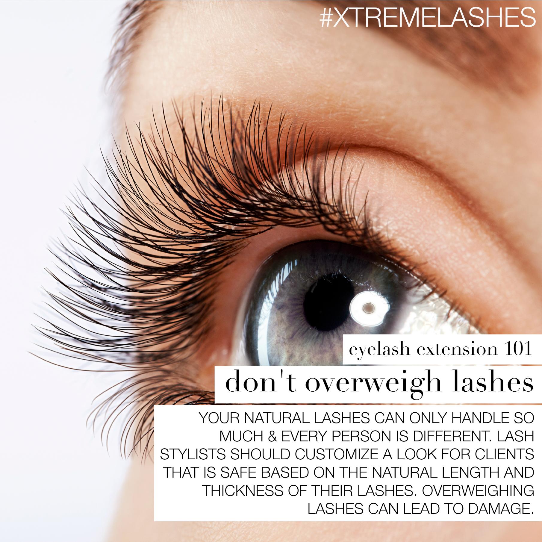 Eyelash Extension 101 By Xtreme Lashes All Things Eyelash