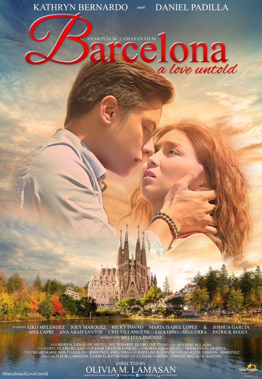 Barcelona A Love Untold 2016 Starring Kathryn Bernardo Daniel Padilla Filipinas Filipinas