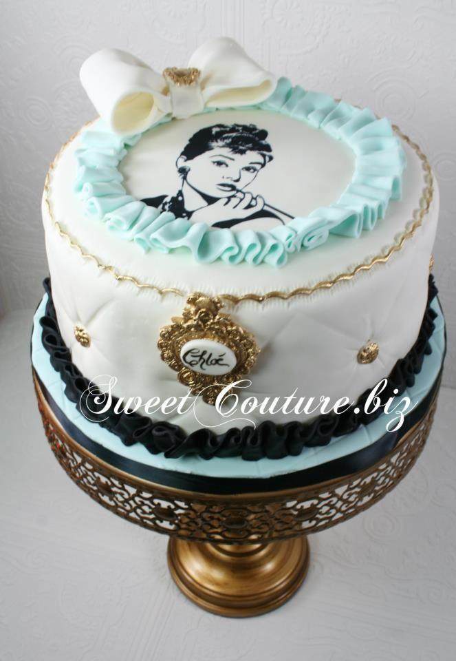 Breakfast At Tiffany S Audrey Hepburn Tiffany Cakes