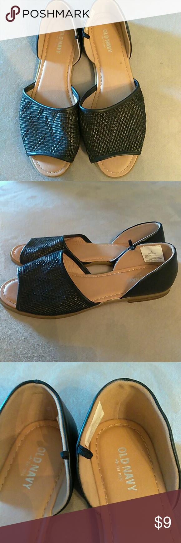 Black sandals old navy - Old Navy Black And Tan Sandals Old Navy Black And Tan Sandals Gently Used