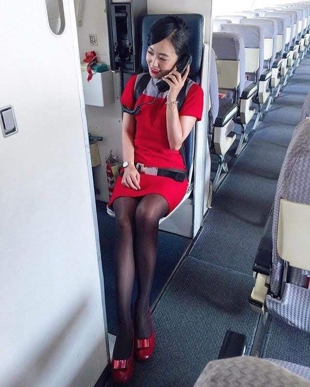 Philippine Airlines Stewardess - Flight Attendant, Flugbeg