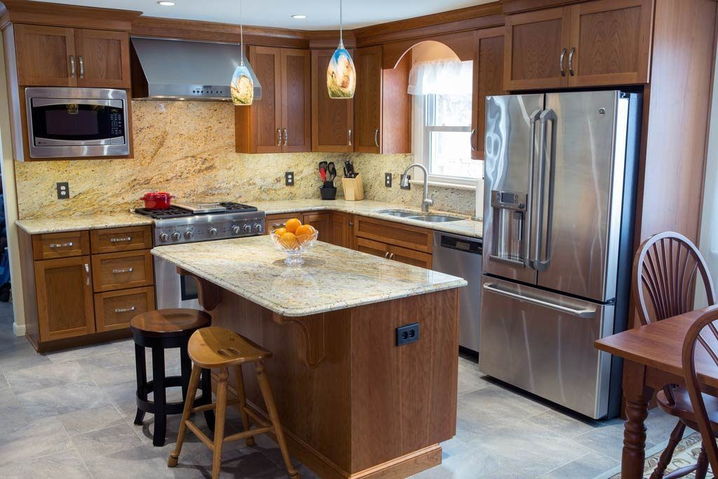 Contemporary Kitchen By Embee And Son Cabinetry Flooring And More York Pa Embeeandson Kitchendesign C Contemporary Kitchen Kitchen Remodel Cost Kitchen