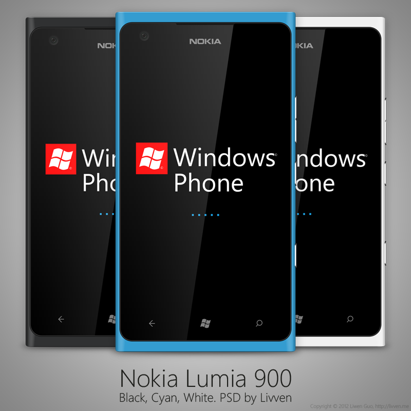 today we are pleased to bring you a mockup of nokia 900 phone which can be used to showcase your windows phone app or a concept design - Mobile Mockup Tools