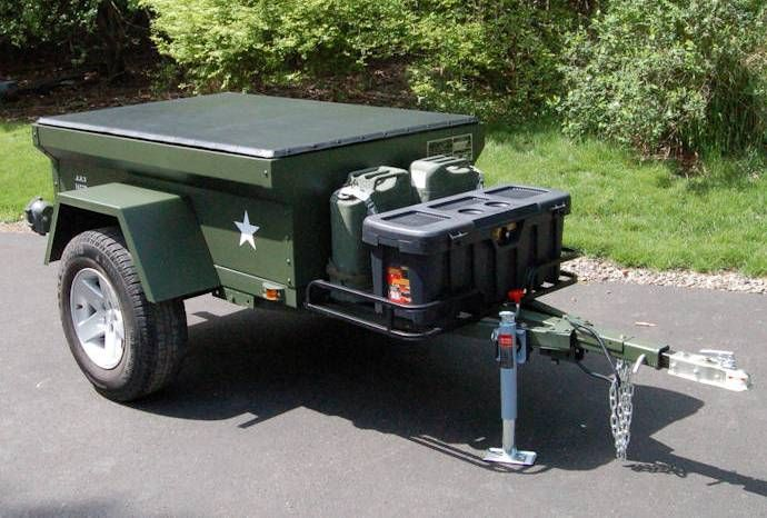 m416 jeep trailer dinoot lightweight fiberglass tub kit. Black Bedroom Furniture Sets. Home Design Ideas