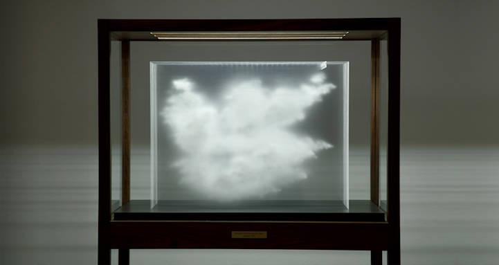 Three Dimensional Clouds Appear In Layered Glass Clouds