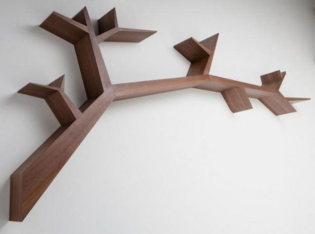 Tree Branch Bookshelf Furniture Design