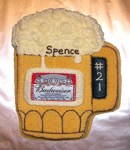 Beer Mug Cake, Beer