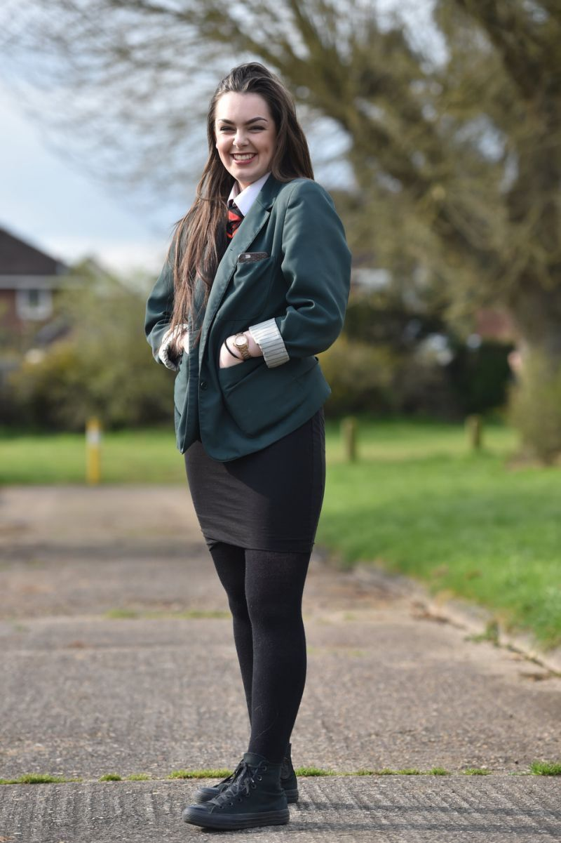 91f0bdcee1 A School Sends 70 Female Students Home for Too-Short Skirts in UK ...