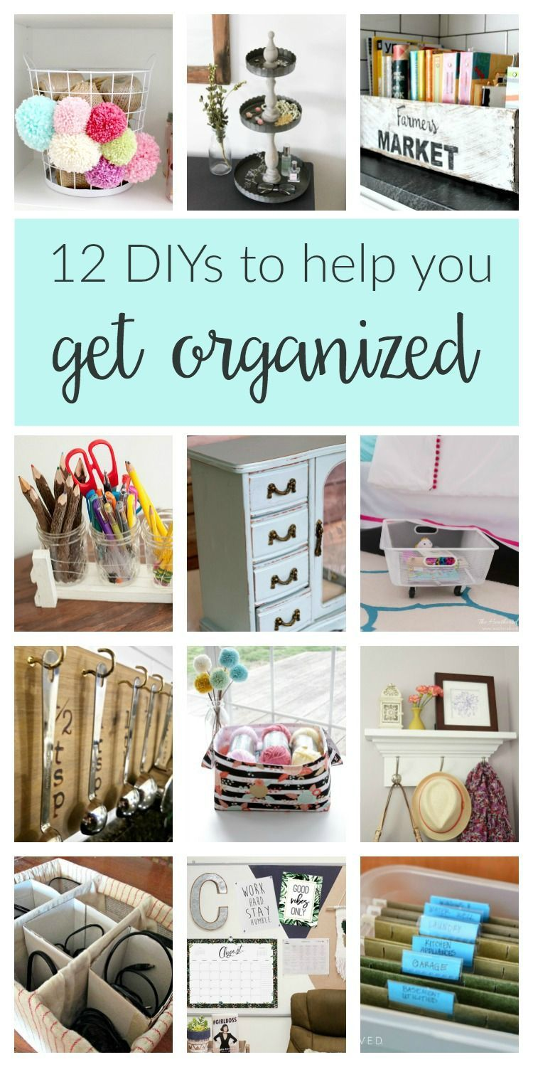 Home organization crafts and projects. These clever budget DIY ideas ...