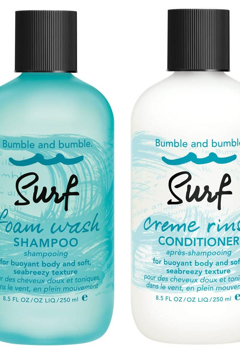 To Get Beachy Hair First Use This Shampoo Surf Hair Bumble And Bumble Bumble And Bumble Surf Spray
