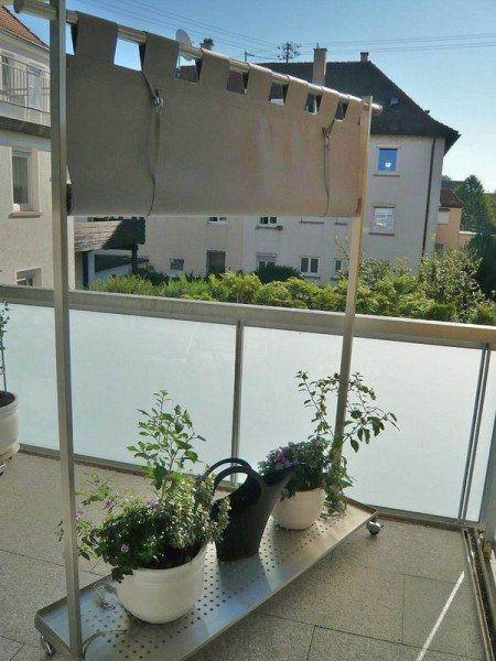 windschutz sichtschutz paravent und edelstahlgarderobe in einem rutsch balkone pinterest. Black Bedroom Furniture Sets. Home Design Ideas