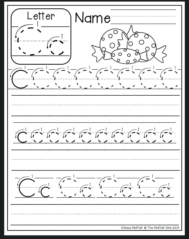 Letter C Tracing Sheet Letter C Worksheet Preschool Letter B Tracing Sheets Kindergarten Letters Preschool Letters Alphabet Preschool